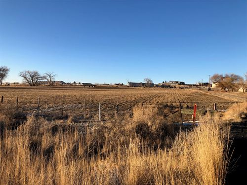 Agriculturally Zoned Lot, Montrose : Montrose : Colorado