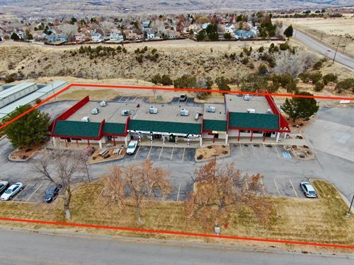 Income-Producing Commercial Complex : Battlement Mesa : Garfield County : Colorado