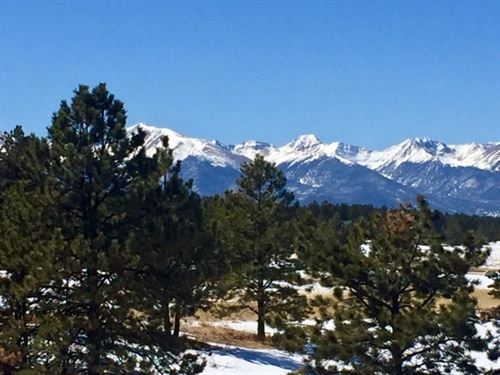 Mountain Property Spectacular : Westcliffe : Custer County : Colorado