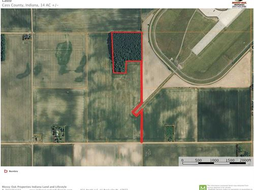 Woods For Sale by Grissom Air Forc : Galveston : Cass County : Indiana