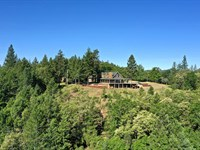 Immaculate Hilltop Home : Jacksonville : Jackson County : Oregon