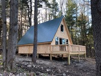 Timberline Cabin : Redfield : Oswego County : New York