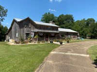 Cabin On Bogue Chitto With Private : Tylertown : Walthall County : Mississippi