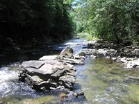 Off The Grid Creek : Dunlap : Sequatchie County : Tennessee
