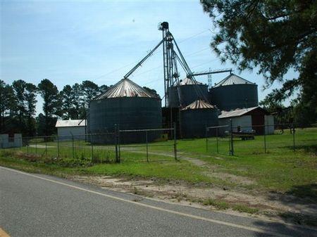 Grain Storage Facility : Lumberton : Robeson County : North Carolina