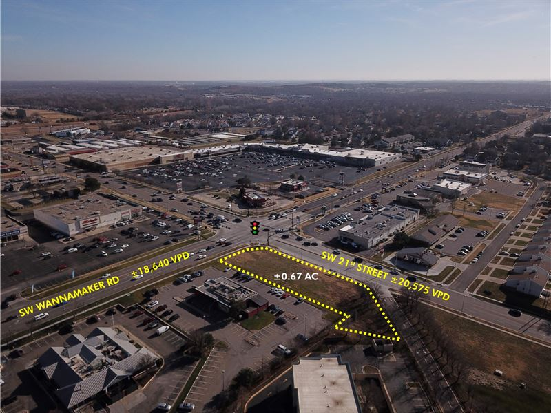 Absolute $1 Auction 0.67 AC : Topeka : Shawnee County : Kansas