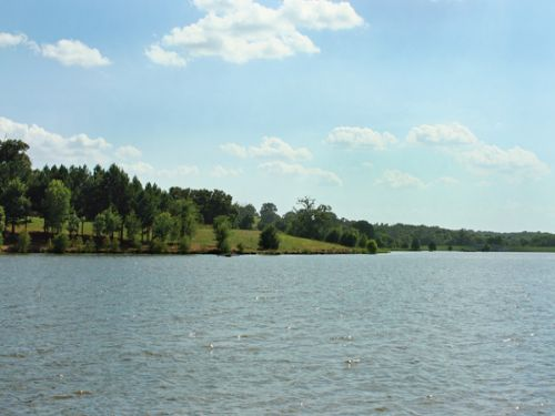1 Acre W/boat Slip On Private Lake : Athens : Henderson County : Texas