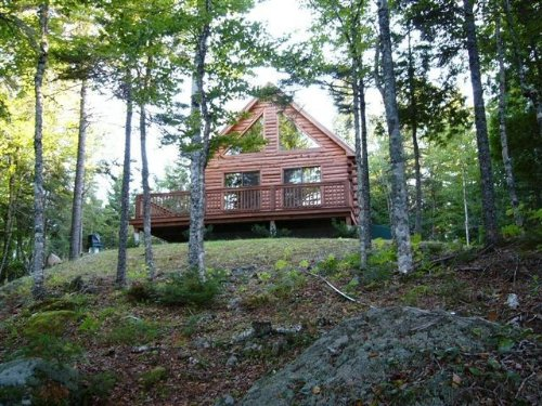 Cathance Lake Cabin : Cooper : Washington County : Maine