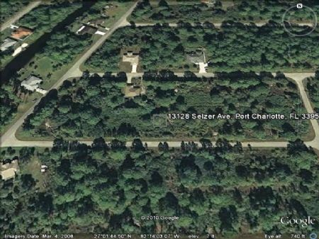 Buildable Lot Near All The Shopping : Port Charlotte : Charlotte County : Florida