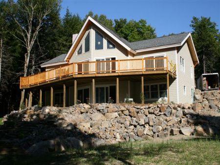 Hilltop On Cathance Lake : Cooper : Washington County : Maine