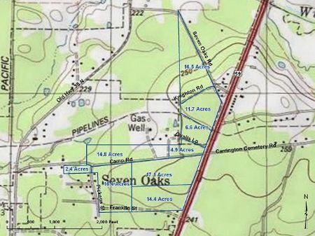 14.4 Ac Seven Oaks : Seven Oaks : Polk County : Texas