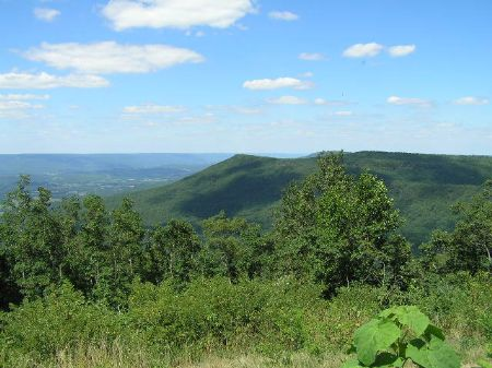 Views Of Mountains And Valley : Dunlap : Sequatchie County : Tennessee