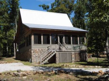 Rustic Cabin And 5+/- Acres : Mountain View : Stone County : Arkansas