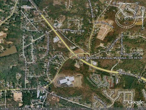 .79 Acres on Mableton Parkway : Mableton : Cobb County : Georgia