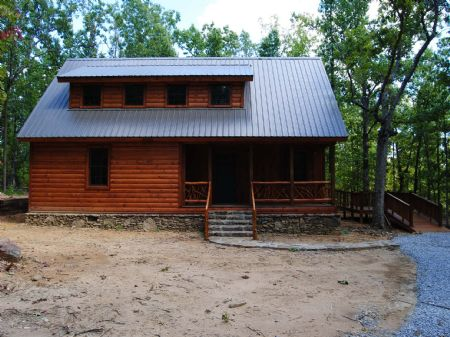 Sugar Hill Cabin And 3.8 Acres : Mountain View : Stone County : Arkansas