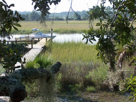 1 Acre Deepwater Lot With Dock : Beaufort : Beaufort County : South Carolina