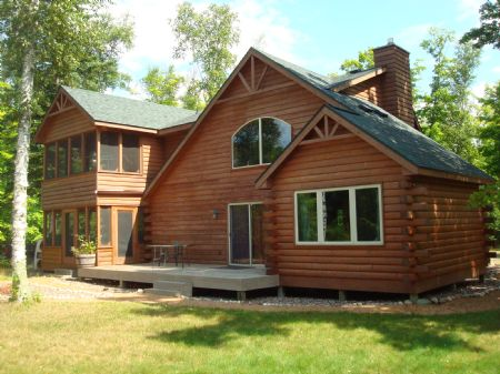 Lake Cochram Home : Fifield : Price County : Wisconsin