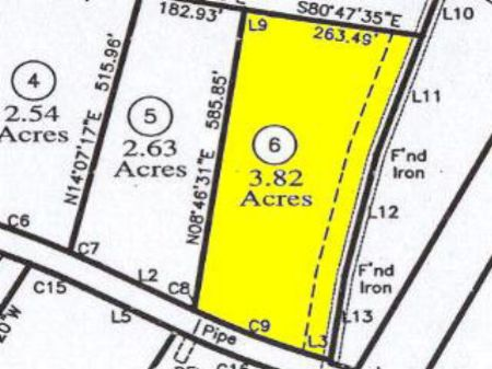 Perc Approved Building Lot : Farmville : Prince Edward County : Virginia