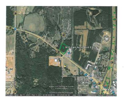 3.55 Acres - 1610 Sam Nunn Blvd : Perry : Houston County : Georgia