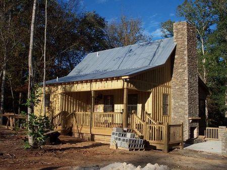 Hillabee Creek- Cabin & 3+ acres : Alexander City : Tallapoosa County : Alabama