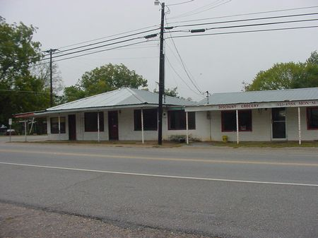 1 Block with 2 stores and Shop : Rutledge : Crenshaw County : Alabama