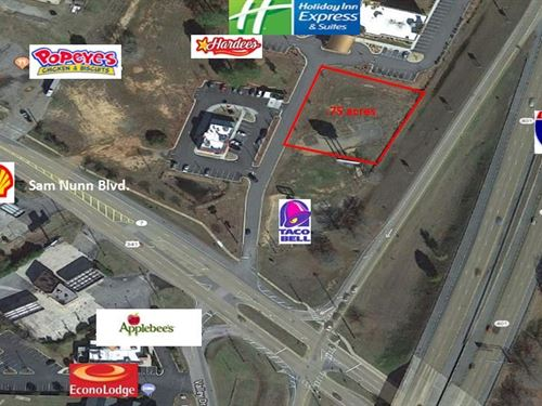Prime Commercial Lot Sam Nunn Blvd. : Perry : Houston County : Georgia