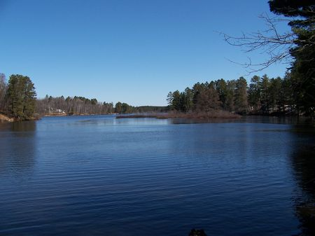 Lake Frontage in the Northwoods : Rhinelander : Oneida County : Wisconsin