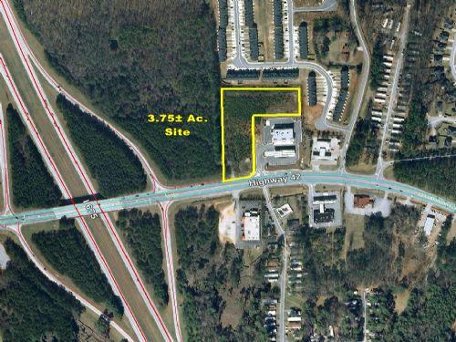 3.75 Commercial Acres : Rex : Clayton County : Georgia