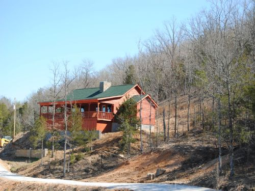 New Cabin With Views : Mountain View : Izard County : Arkansas