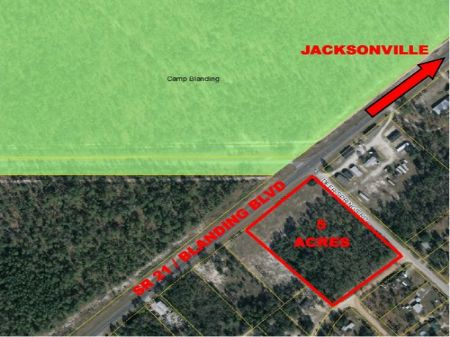 C-67 - 5.94 Acres Zoned Commercial : Keystone Heights : Clay County : Florida