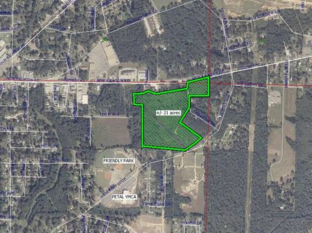 19ac Residential Subdivision : Petal : Forrest County : Mississippi