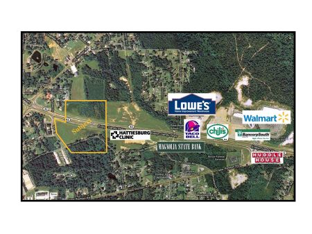 Commercial Development Property : Petal : Forrest County : Mississippi