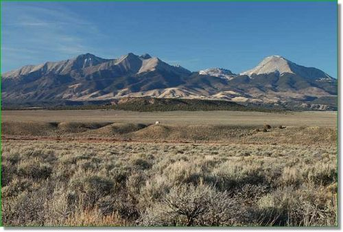 Colorado Land For Sale W/ Big Views : Ft.garland : Costilla County : Colorado