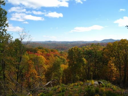 10 Ac Mtn Land, Views, Private : Independence : Grayson County : Virginia