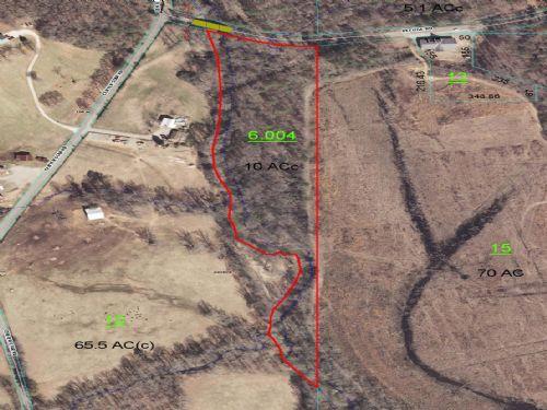 10 Acres Timber On Broken Arrow Crk : Ragland : St. Clair County : Alabama