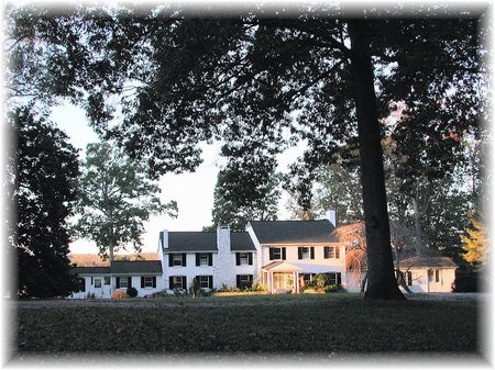 River House On 20 Unparalled Acres : Clemmons  : Davidson County : North Carolina