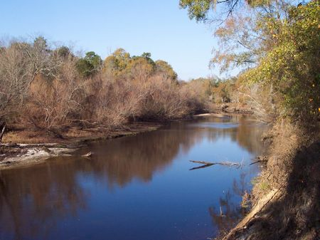 Ohoopee River Frontage 13.1 Acres : Reidsville : Tattnall County : Georgia