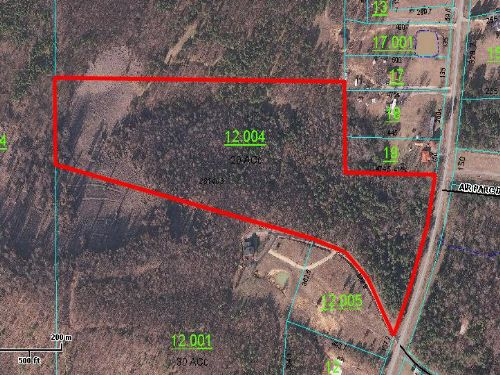 Bank Owned 20 Acres : Ashville : Saint Clair County : Alabama