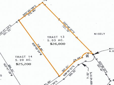5 Acres, East Tn, Owner Financing : Maynardville : Union County : Tennessee