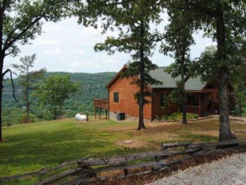 Custom home atop white mountain lot for sale mountain for Custom built homes arkansas