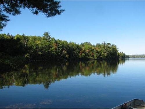 Whites Island Lot On Big Lake : Grand Lake Stream TWP : Washington County : Maine