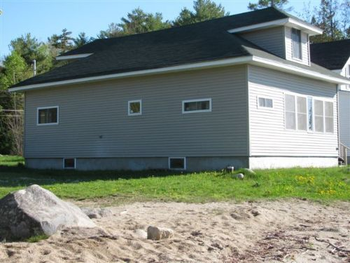The Beach House On Cold Stream Pond : Enfield : Penobscot County : Maine