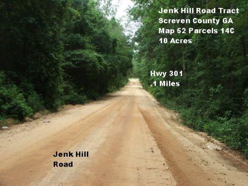 Jenk Hill Road Tract : Sylvania : Screven County : Georgia