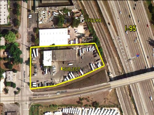 Auction - Prime Irom-aa Bldg : Dania Beach : Broward County : Florida