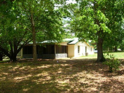 Home On 2 Acres : Roanoke : Randolph County : Alabama