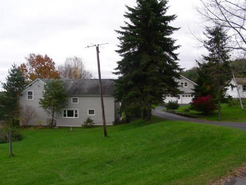 Country Farmhouse : Otego : Otsego County : New York