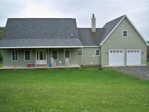 Immaculate Custom Built Home : Burlington Flats : Otsego County : New York