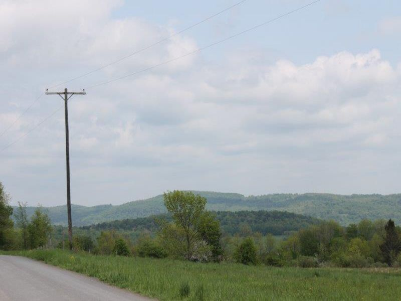 Building Lot Hilltop Views 3 Acres : Brookfield : Madison County : New York