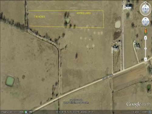 7.96 Acres (#26130) : Bogata : Red River County : Texas