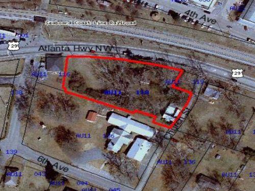 Downtown Auburn : Auburn : Barrow County : Georgia